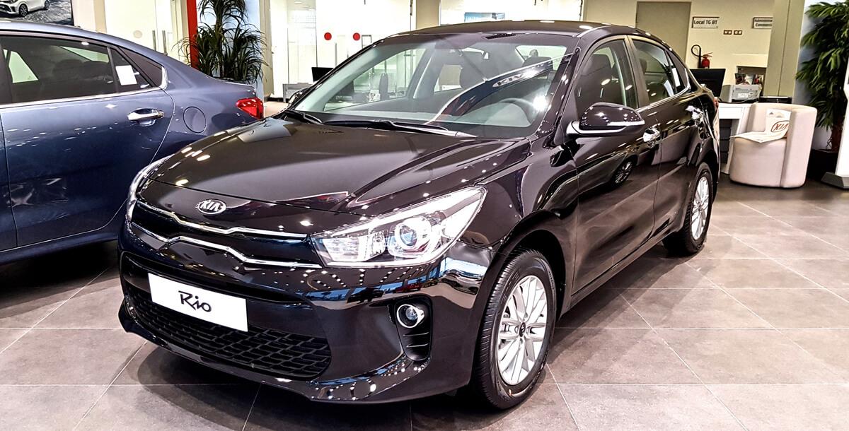 Nouvelle Kia Rio Sedan Bvm Disponible A Kia Motors Tunisie