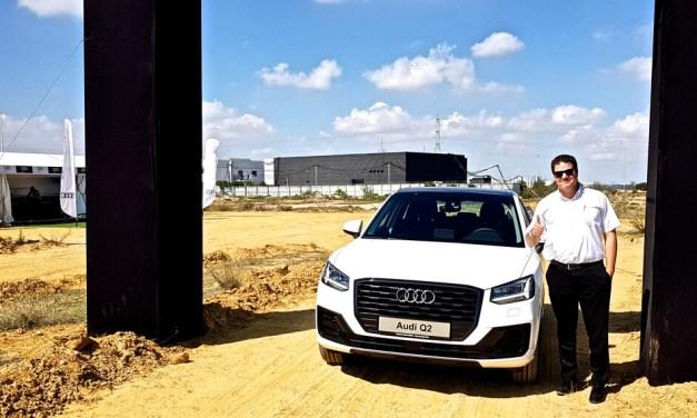 Audi Q2, le Test Drive Off Road avec Emir Lamroussi