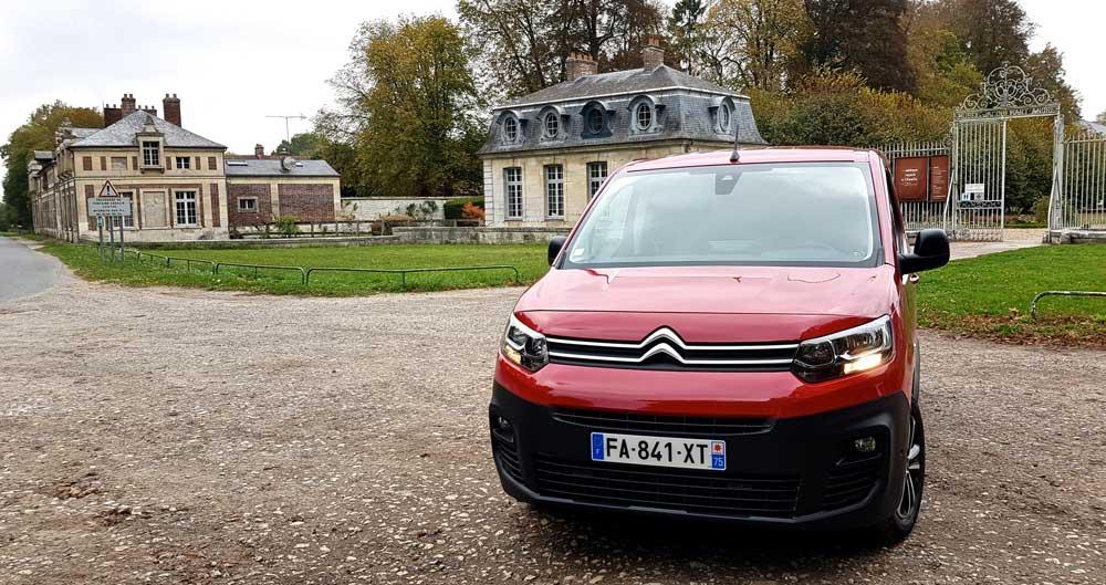 Nouveau Citroën Berlingo Van, notre reportage à Paris