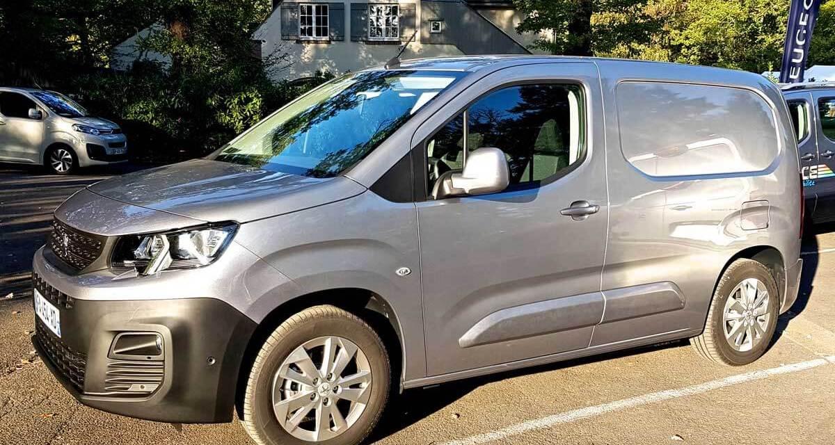 Nouveau Peugeot Partner Van, notre reportage à Paris