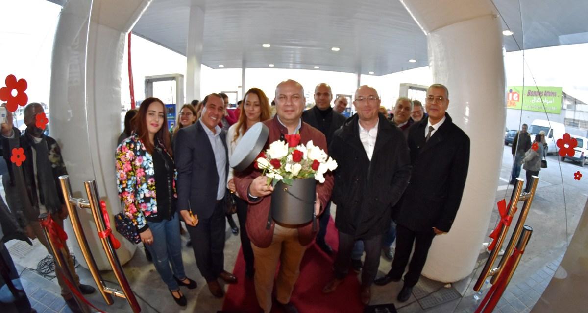 Nouvel espace de restauration«Marhaba» à la station de ServicesOLA Energy Tunisie de Sousse