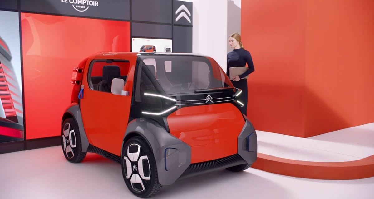 CITROËN «Ami One Concept», la mini citadine 100% électrique