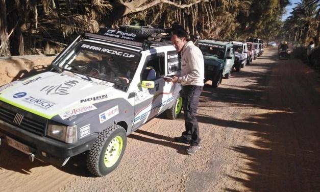 Sahara Racing Cup 1ere édition: Les FIAT Panda plein Sud Tunisien