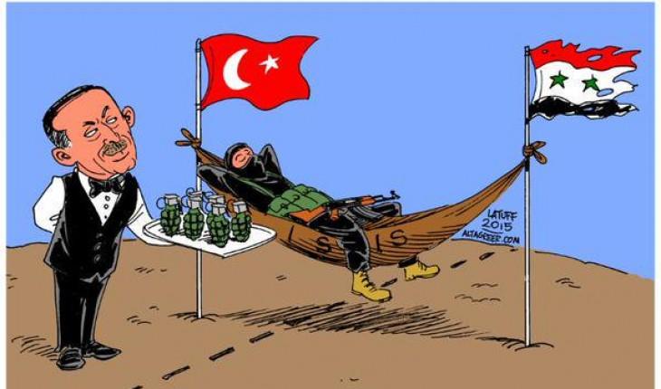 Daech contre-attaque en Syrie avec le soutien de la Turquie ...