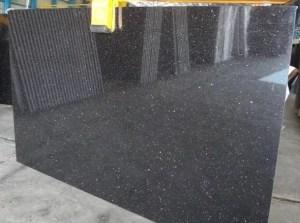 Noir Galaxy Granite polis