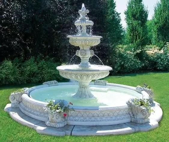 fontaine nostalgique les 6 bouquets
