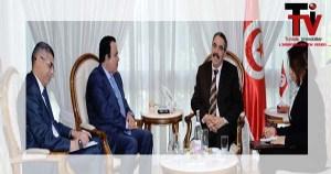 وزير-التجهيز-يستقبل-سفير-قطر-بتونس