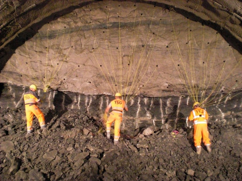 Special Steel Structure For The Schw 228 Bisch Gm 252 Nd Tunnel