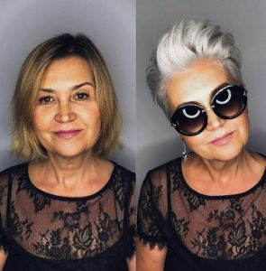 Tunsori par scurt pentru femei peste 50 ani 12