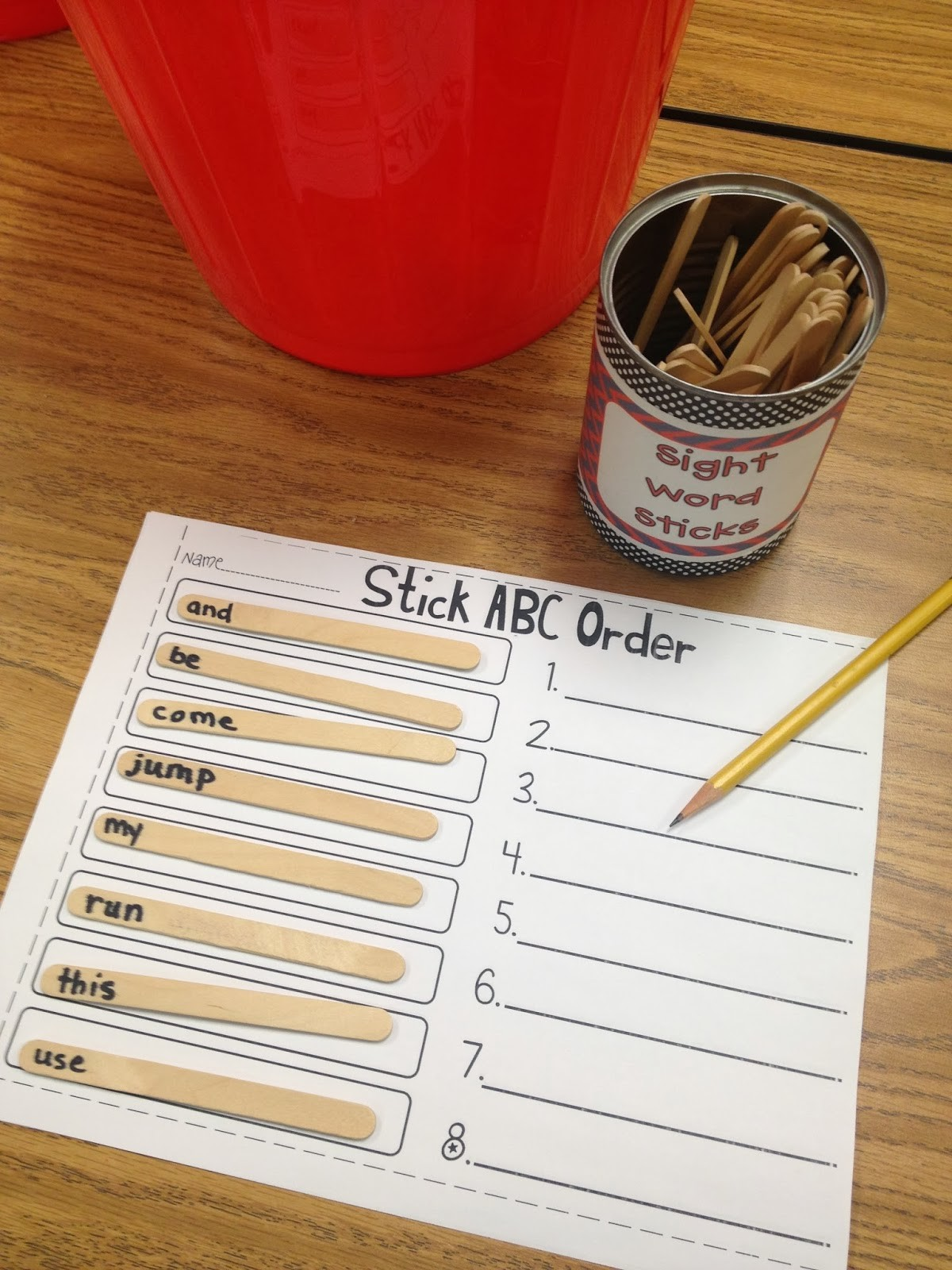 Making Sight Words Stick