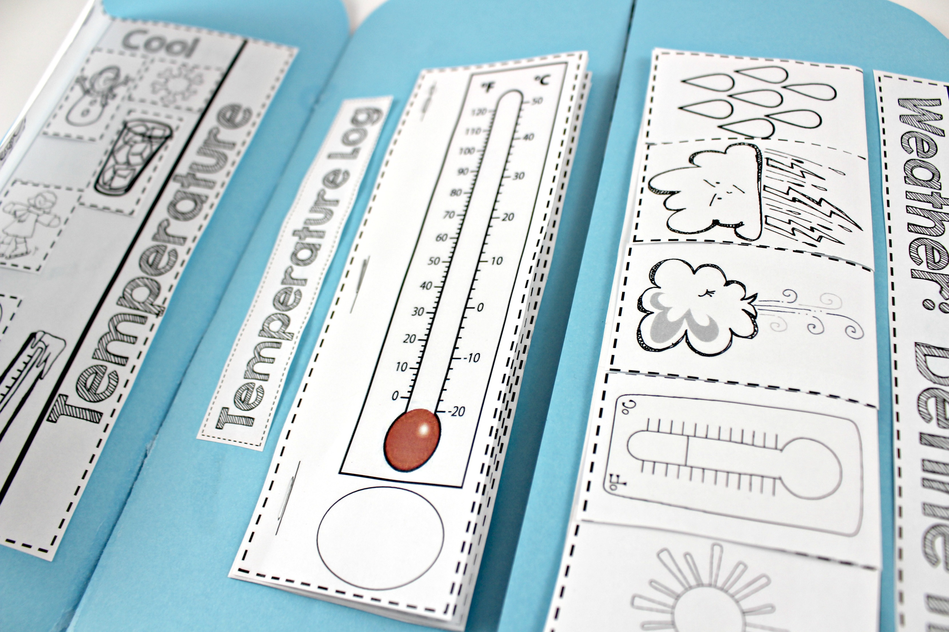 Weather Interactive Science Notebook