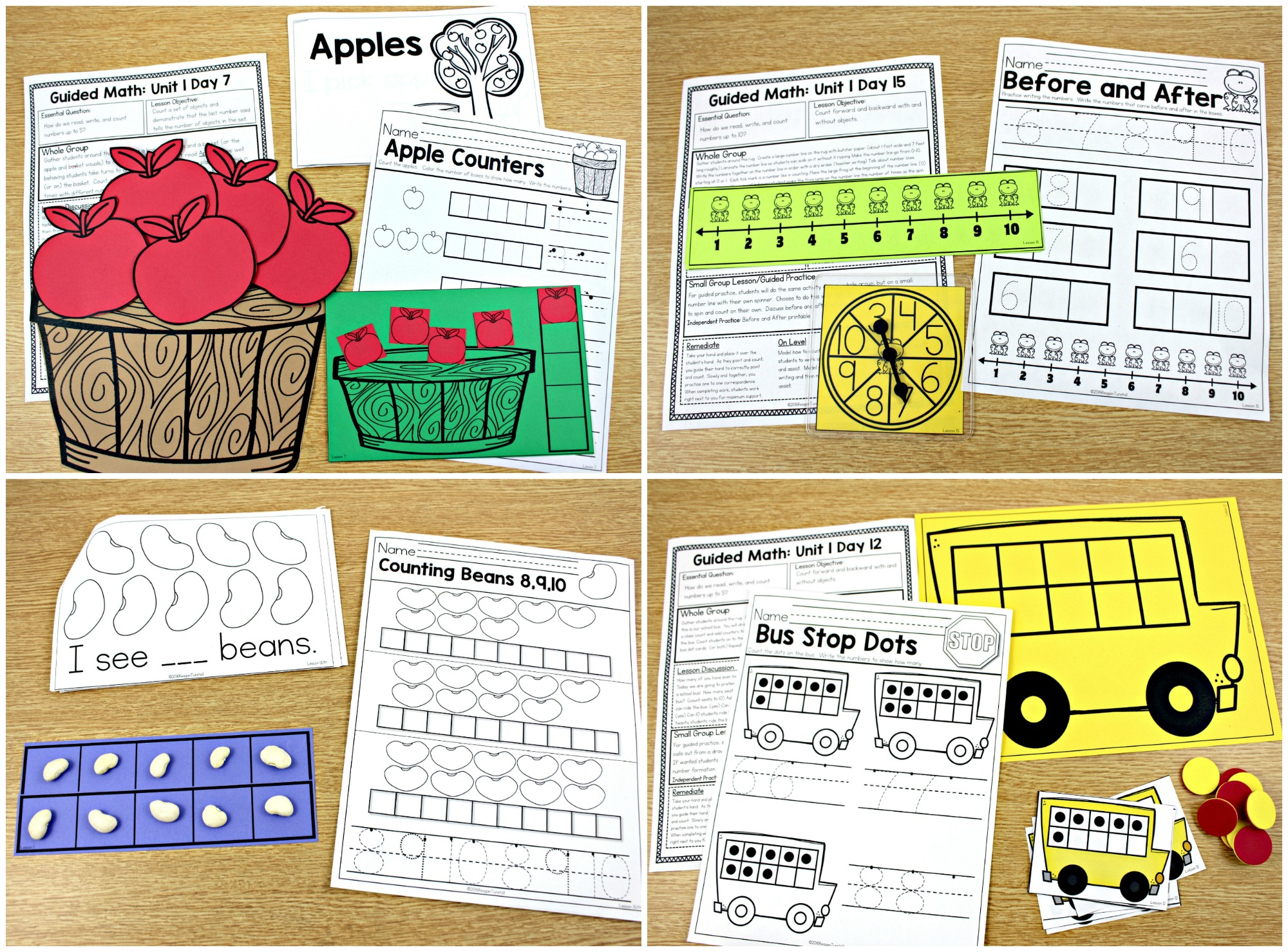 Guided Math K 1 And 2
