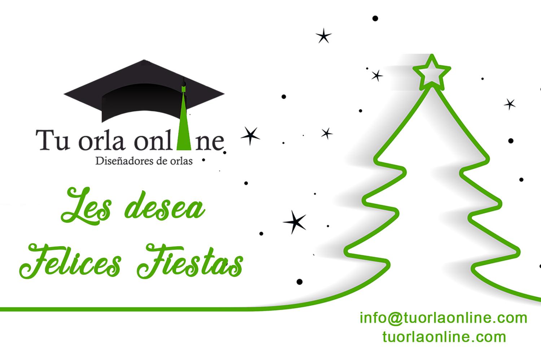 Felices Fiestas, tu orla online