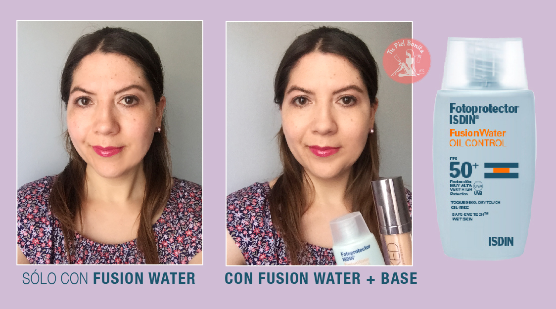 Review Fotoprotector Fusionwater Toque Seco De Isdin