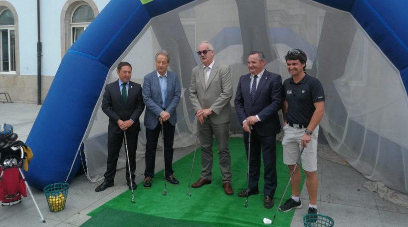Presentación torneo Ribeira Sacra Patrimonio de la Humanidad Ladies Open