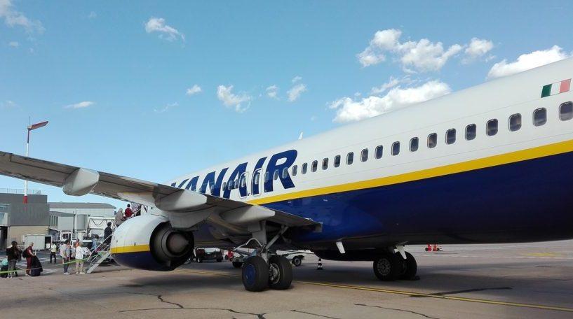 Ruta de Ryanair entre Santiago y Barcelona-El Prat