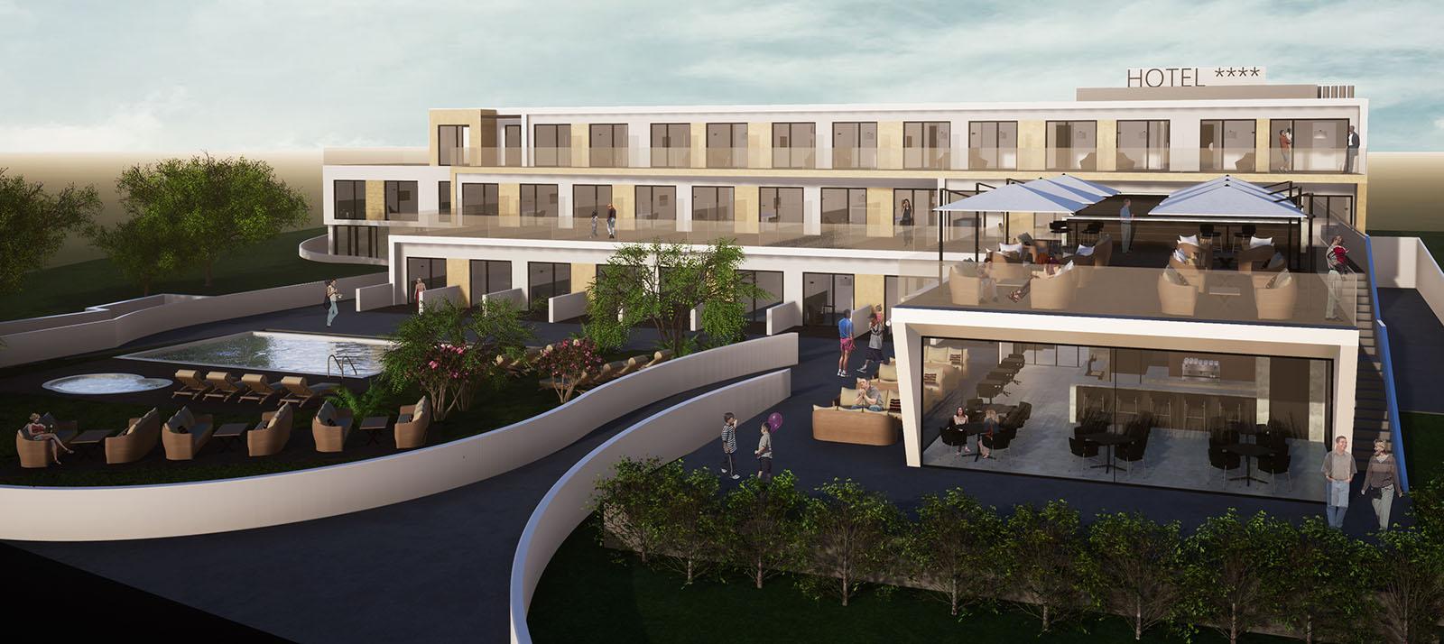 Nuevo hotel playa de Foz