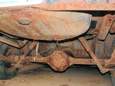 Rusty Bugger- Minnesota SALT is NOT NICE!