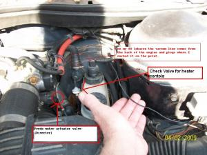 PCV hose and Turbo vac line  Turbo Dodge Forums : Turbo