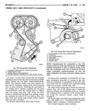 24L DOHC timing belt diagram  Turbo Dodge Forums : Turbo