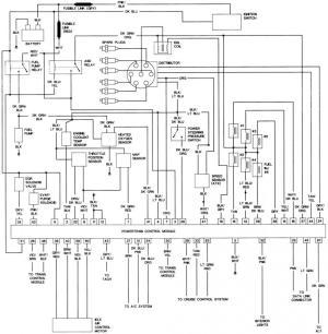 Wiring diagram, '89 Spirit 25 T1  Page 2  Turbo Dodge