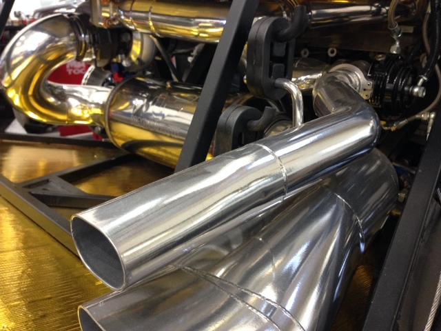 custom exhaust bay area mandrel bent