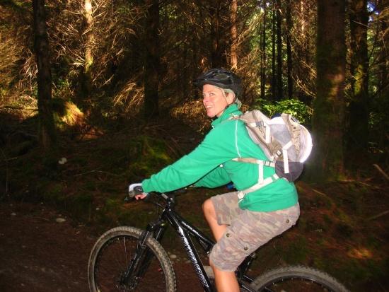 monutain bike Bellingham friend