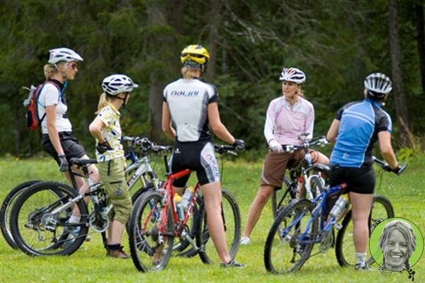 donne bicicletta corsi