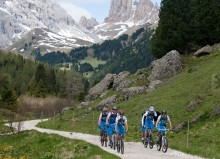 guide mountain bike dolomiti