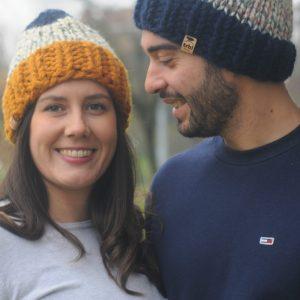berretto lana sportivo casual lana grossa chunky spesso e resistente