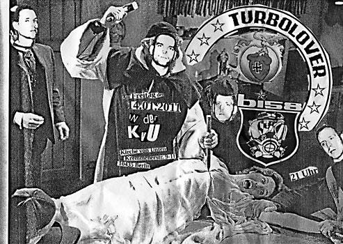 Turbolover-Konzert in der KvU am 14. Januar 2011