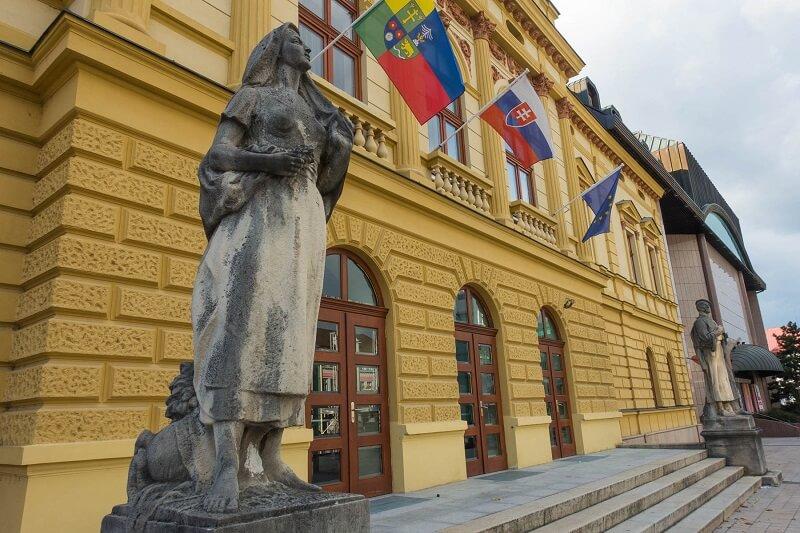 Turčianska záhradka - Komorné divadlo v Martine