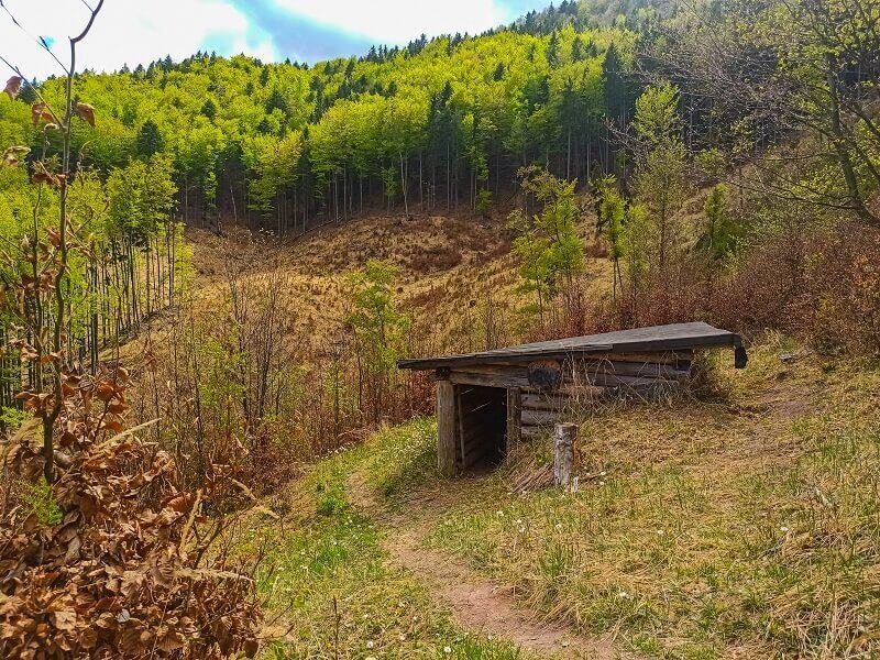 Turiec - Partizánske bunkre vo Valči