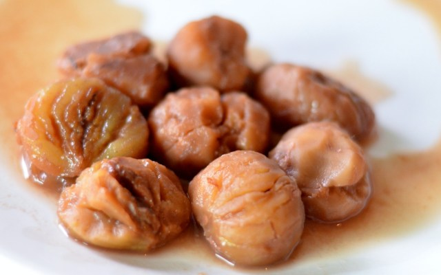 KESTANE ŞEKERİ, czyli turecki deser zkasztanów