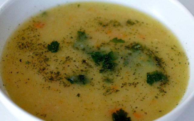 KEREVİZ ÇORBASI, czyli zupa zselera