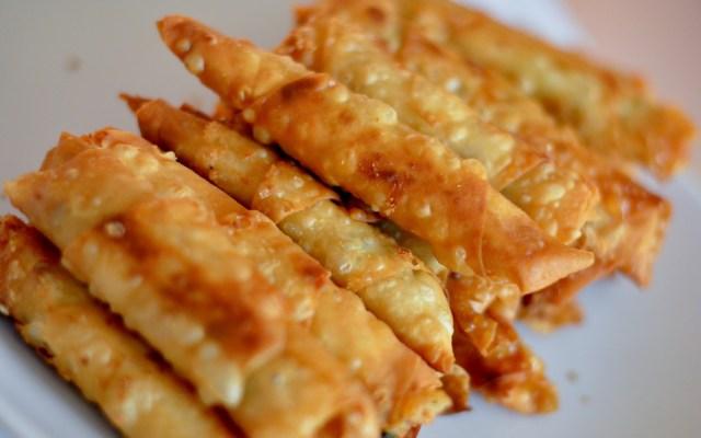 SİGARA BÖREĞİ, czyli smażone ruloniki zbiałym serem