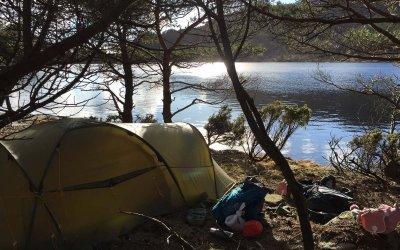 Påsketur med telt til Dalevatn