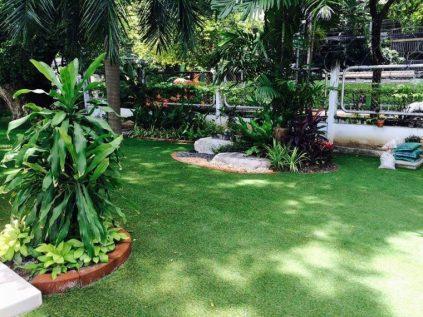 หญ้าเทียมจัดสวน (1)