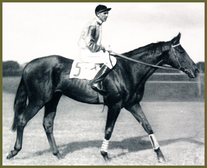 Palastpage und Jockey Everett Haynes