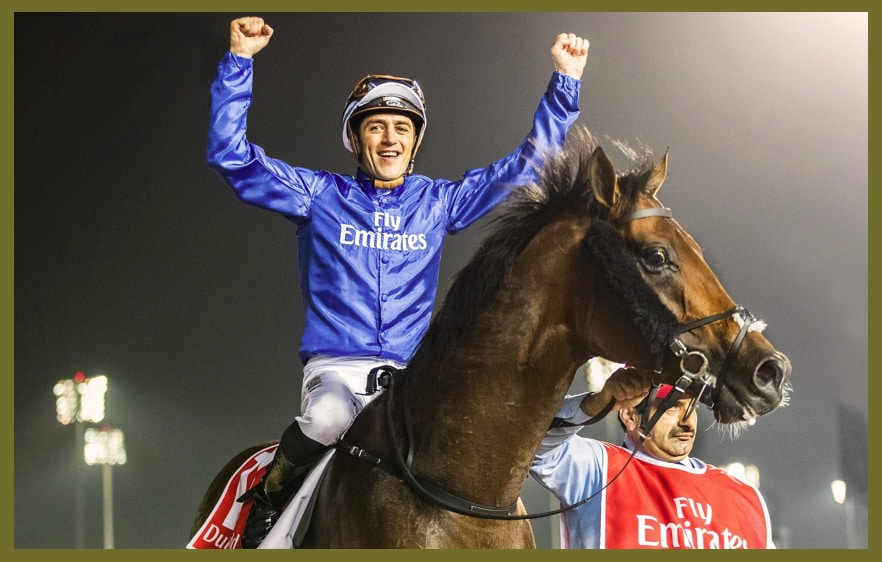Thunder Snow und Christophe Soumillon