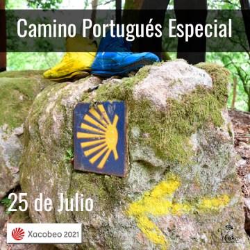 Especial Camino Portugués 25 de Julio