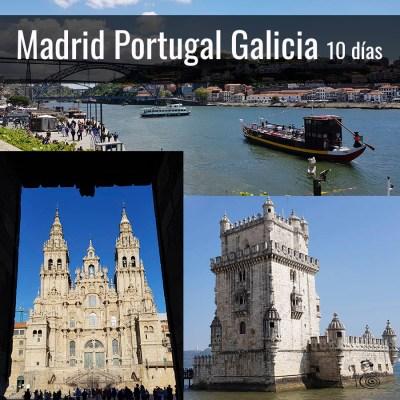 Viaje a Madrid, Galicia y Portugal