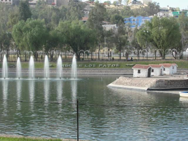Parques Guadiana y Sahuatoba, Durango