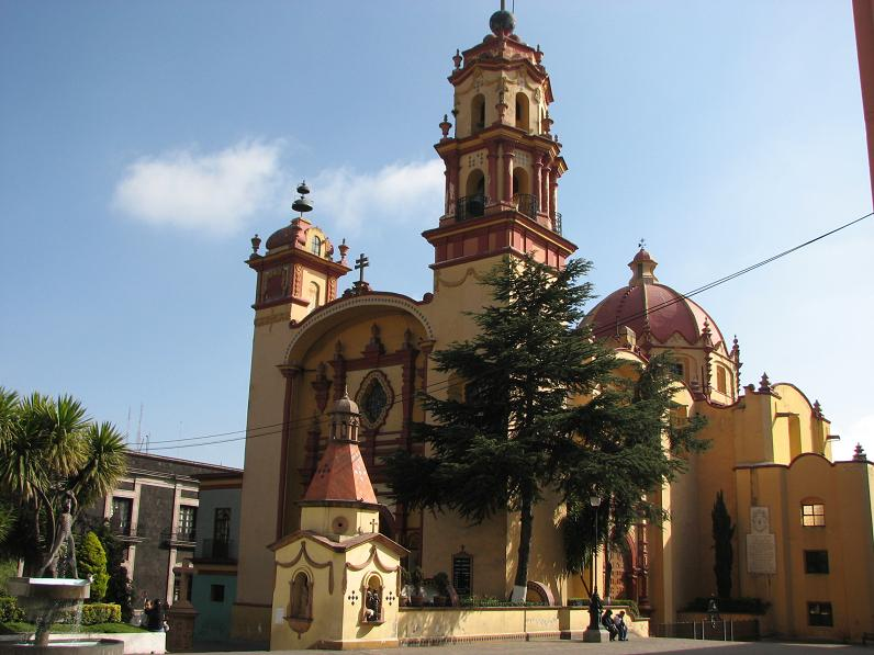 Templo de la Santa Veracruz, Estado de México