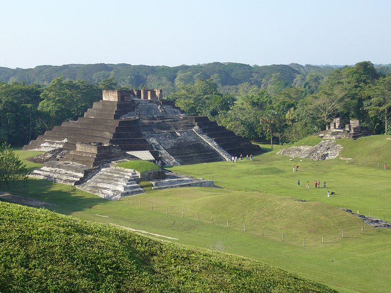 Sitios Arqueológicos en Tabasco
