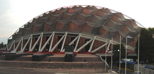 Palacio de los Deportes, Ciudad de México