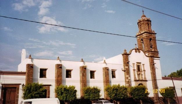 Templo y Hospital de San Juan de Dios, Querétaro