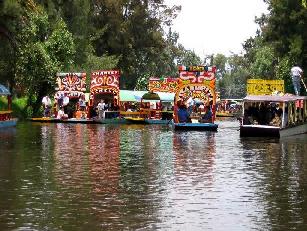 Historia de la Delegación Xochimilco, Ciudad de México