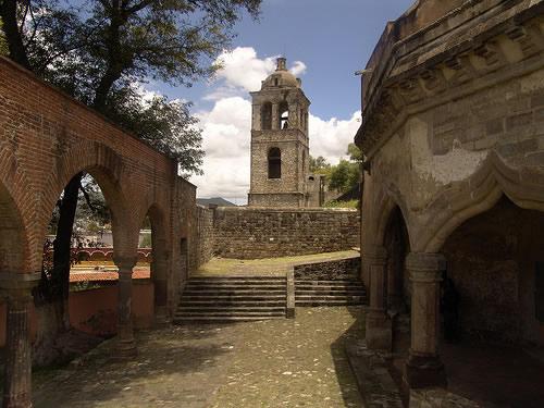 Templo y Ex Convento de San Francisco, Tlaxcala