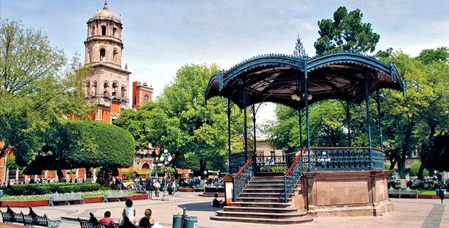 Jardín Zenea, Querétaro